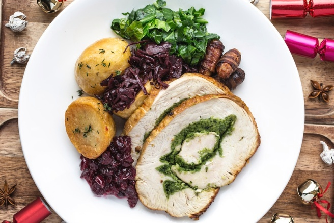 The Narrow Herb Stuffed Chicken Breast