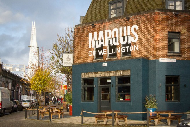 Marquis of Wellington - Exterior and The Shard.jpg